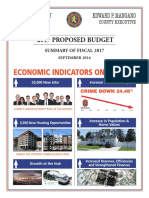 Nassau Budget - Summary of Fiscal 2017