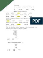 Simulacro de Química 5ºaño