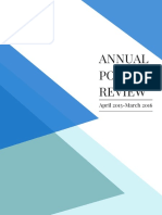 Annual Policy Review 2016