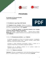 Programa III Jornadas de Formación Docente y I Jornadas de Prácticas de La Enseñanza