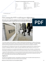 How Joining the WTO Could Impact Afghanistan _ Asia _ DW.com _ 12.11