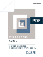 MICRO FOCUS - Object Oriented Programming With Cobol
