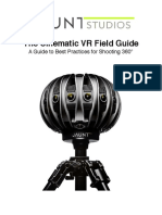 The Cinematic VR Field Guide