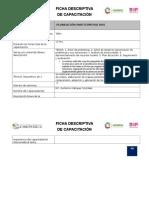 Ficha Descriptiva de Capacitador-plan Participativa Dos