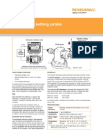Data Sheet Renishaw TS27R Toolsetting Probe