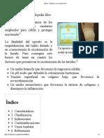 Apósito - Wikipedia, La Enciclopedia Libre