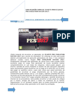 CD Keys Pro Evolution Soccer 2017 Activacion Code