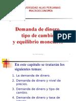 MACROECONOMÍA-UAPDemanda de Dinero TC Equilib