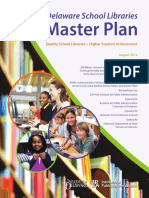 Delaware School Libraries Master Plan