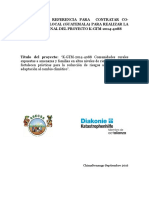 TERMINOS DE REFERENCIA PARA  CONTRATAR CO-CONSULTOR/A LOCAL (GUATEMALA) PARA REALIZAR LA  EVALUACION FINAL DEL PROYECTO K-GTM-2014-4088