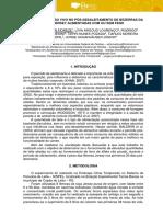 AVALIAÇÃO DO PESO VIVO NO PÓS-DESALEITAMENTO DE BEZERRAS DA RAÇA JERSEY ALIMENTADAS COM OU SEM FENO