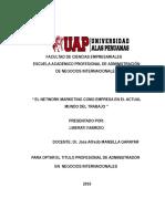 Trabajo Academico de Administracion y Negocios Internacionales