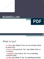 law intro
