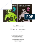 O tych co z kosmosu - Arnold Mostowicz.pdf