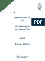 PRIMERA CLASE AGRONEGOCIO