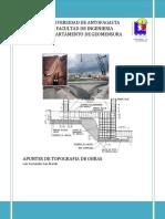 Apuntes de Topografia de Obras Luis Fernandez San Martin
