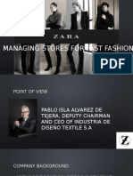 Rules of Fashion Supply Chain  Zara Case Study  pdf   Supply     Zara  IT for fast fashion case study