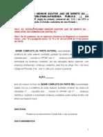 Estrutura Petição Inicial_NCPC