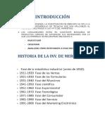 APUNTES INVESTIGACION DE MERCADO