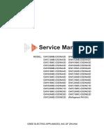 Manual de Serviço Gree GWC e GWH
