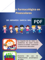 Manejo Farmacológico en Preescolares
