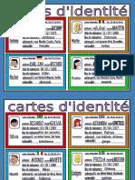 Cartes d'Identité 1