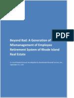 Rhode Island 22016 Real Estate Investigation