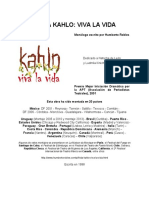 Monólogo Frida Kahlo