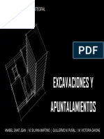 Curso de Excavaciones- Ejemplo de Presentación