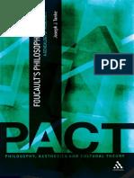 Foucault, Michel; Tanke, Joseph J Foucaults Philosophy of Art a Genealogy of Modernity