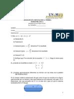Examen TIPO Matematicas - 2