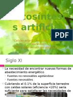 Fotosíntesis Artificial- PRESENTACION FQCA
