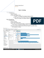 Tableau Companion - Sort Hierarchy & Filter