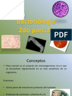 1.-Bacteriología