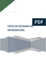 Tipo de Sistemas de Información