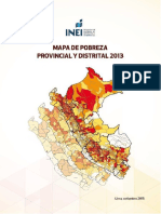 Mapa de Probreza 2013