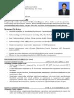 Usman Ahmed Updated CV