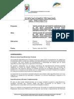 Especificaciones Tecnicas Reformulado Puente Peschay