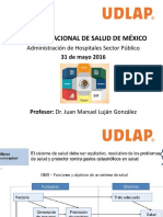 1. Sistema Nacional de Salud de México