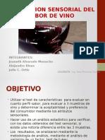 Evaluacion Sensorial Del Sabor de Vino