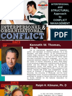 Interpersonal and Structural Approach to Conflict Management