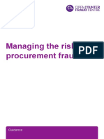 Managing the Risk of Procurement Fraud