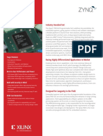 Zynq 7000 Product Brief