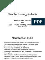 Nanotechnology in India - Ravi Srinivas