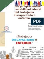 Analisis juridiprencial de los trabajadores