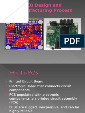 PCB ppt   Printed Circuit Board   Electronic Engineering