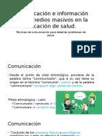 Comunicación e Información de Los Medios Masivos En