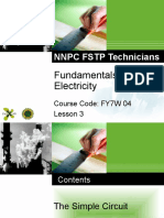 FY7W04 Electrical Module 1 Lesson 3