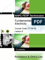 FY7W04 Electrical Module 1 Lesson 4
