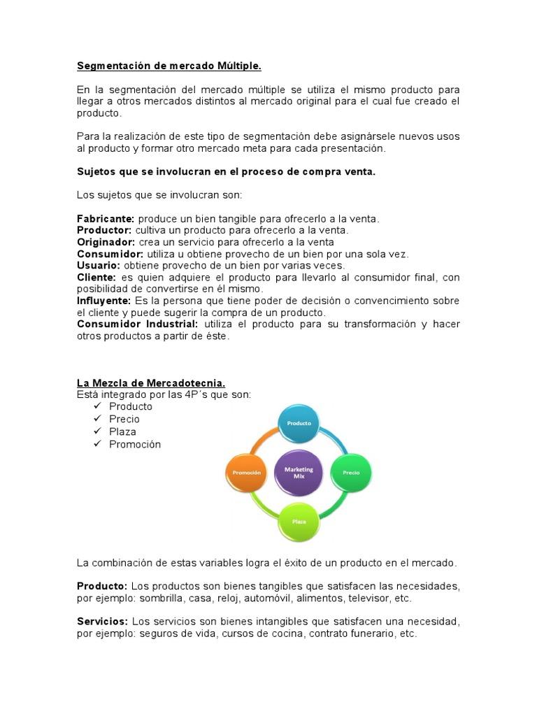 Resumen Mercadotecnia III
